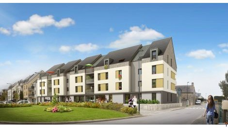 Appartement neuf Ker Meler investissement loi Pinel à St Meloir des Ondes