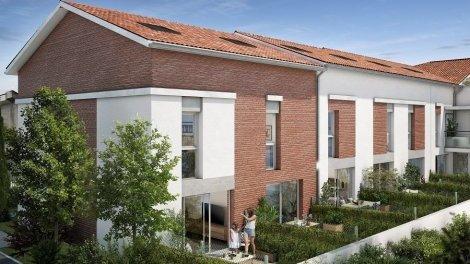 Appartements et villas neuves Tempo Verde éco-habitat à Toulouse