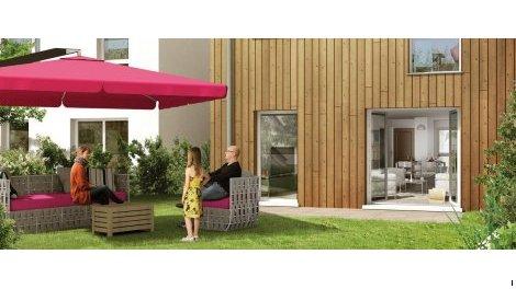 Appartement neuf Villas Flora investissement loi Pinel à Le Havre