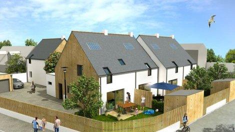 Appartements neufs Le Hameau des Bains investissement loi Pinel à Le Croisic