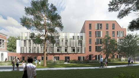 Appartements neufs Les Jardins du Cloître investissement loi Pinel à Lille