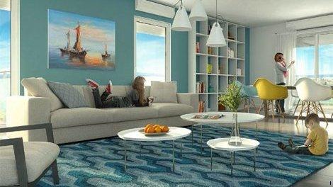 Appartement neuf Cagnes-sur-Mer C1 investissement loi Pinel à Cagnes-sur-Mer