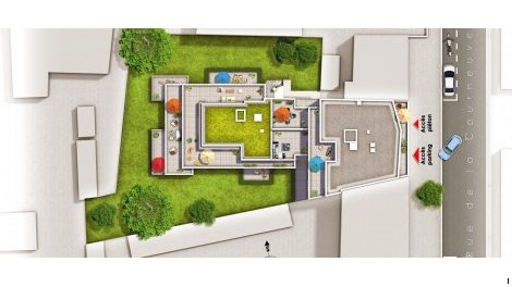 Appartement neuf Quadrature investissement loi Pinel à Aubervilliers