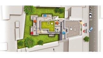 Appartements neufs Quadrature investissement loi Pinel à Aubervilliers