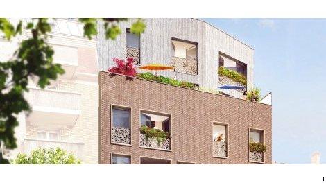logement neuf à Aubervilliers