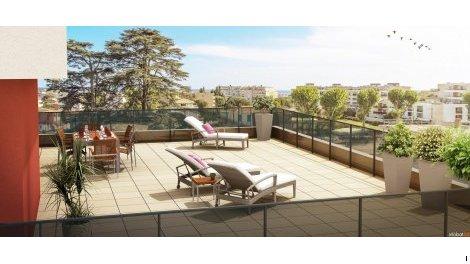 Appartement neuf Florazur à Cagnes-sur-Mer