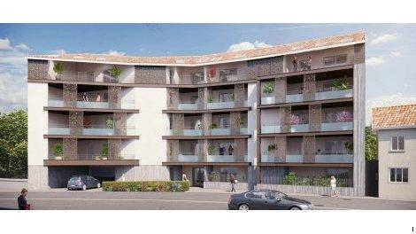 Appartement neuf Les Balcons du Centre investissement loi Pinel à Chasse-sur-Rhône