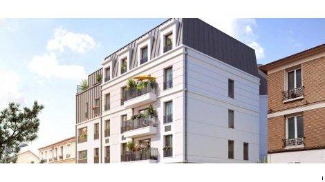 Appartement neuf L'Intimiste investissement loi Pinel à Clamart