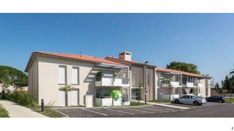 Appartement neuf Les Jardins de Clémentine investissement loi Pinel à Saint-Jean