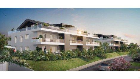 Appartement neuf L'Altô investissement loi Pinel à Cruseilles