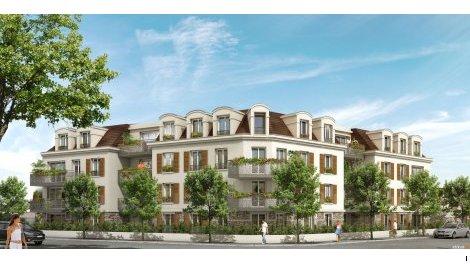 Appartement neuf Les Côteaux du Raincy investissement loi Pinel à Le Raincy