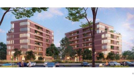 Appartement neuf Prism investissement loi Pinel à Pantin