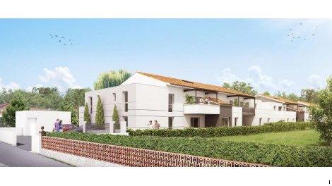 Appartement neuf Le Triolet investissement loi Pinel à Cugnaux