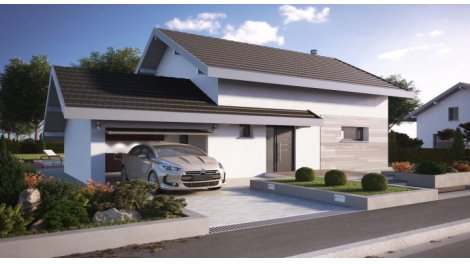 """Terrain constructible du mois """"Terrain+maison neuve"""" - Pers-Jussy"""