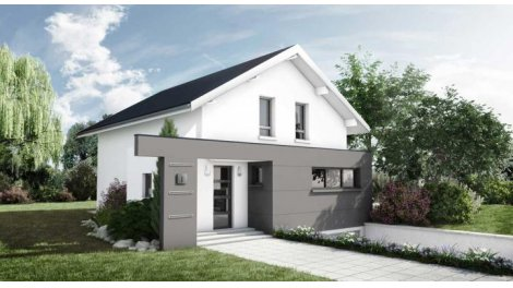 """Terrain constructible du mois """"Terrain+maison neuve"""" - Monnetier-Mornex"""