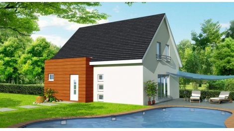 "Terrain constructible du mois ""Terrain+maison neuve"" - Bruebach"