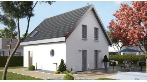 "Terrain constructible du mois ""Terrain+maison neuve"" - Gildwiller"