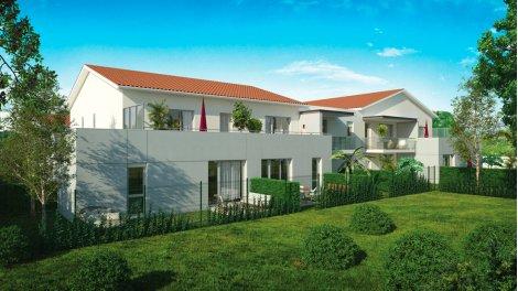 Appartement neuf Jardin Pujibet investissement loi Pinel à Toulouse