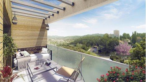 Appartement neuf Coteau Verde investissement loi Pinel à Marseille 13ème
