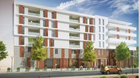 Appartements et maisons neuves Nouvel'r éco-habitat à Montpellier