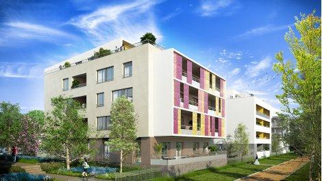 Appartement neuf Jardin Rubis éco-habitat à Montpellier