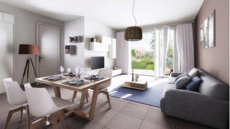 Appartement neuf Domaine Camp Loung éco-habitat à La Salvetat-Saint-Gilles