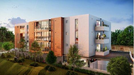 Appartement neuf Villa Niel éco-habitat à Toulouse