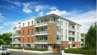 Appartements neufs Villa Ô Centre investissement loi Pinel à Cugnaux