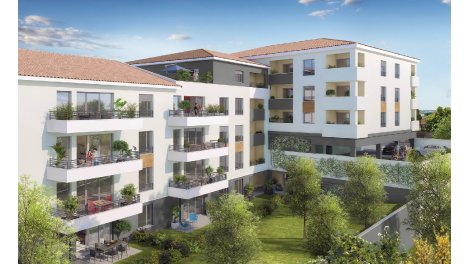 Appartement neuf Up City investissement loi Pinel à Toulouse