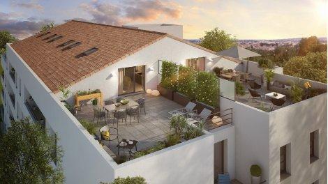 Appartement neuf Hoya & Clivia investissement loi Pinel à Toulouse
