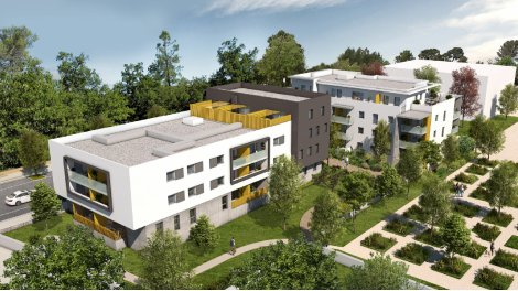 Appartement neuf Cista Nova investissement loi Pinel à Montpellier