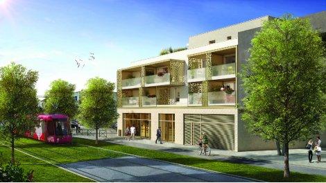 Appartement neuf Nauvia investissement loi Pinel à Castelnau-le-Lez