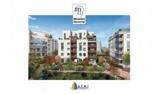 Appartements neufs Médaillon Montchat investissement loi Pinel à Lyon 3ème