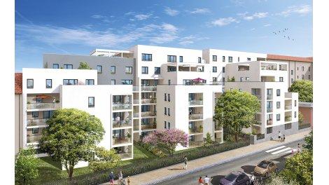 Appartement neuf Horizon Monplaisir investissement loi Pinel à Lyon 3ème
