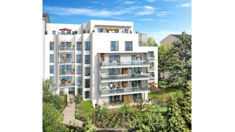 Appartement neuf Faubourg Montchat investissement loi Pinel à Lyon 3ème