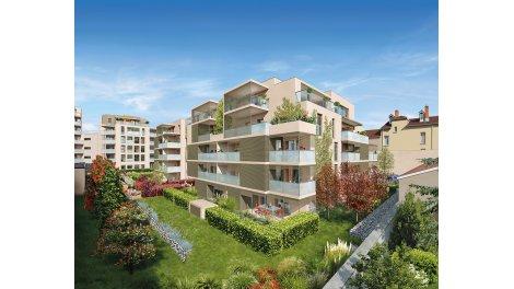 Appartement neuf Patio Bellecombe investissement loi Pinel à Lyon 6ème
