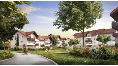 Appartement neuf Le Domaine des Peupliers investissement loi Pinel à Poisy