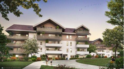 Appartement neuf Le Parc de Clavière investissement loi Pinel à Poisy