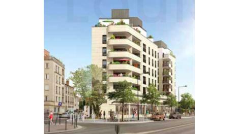 Appartement neuf Resience Louis Mercier investissement loi Pinel à Villejuif