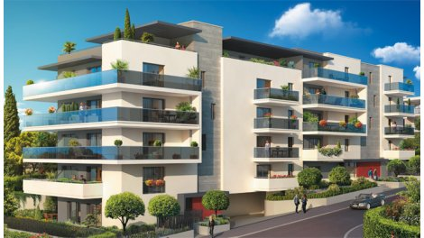Appartement neuf Cagnes/mer - 6083 investissement loi Pinel à Cagnes-sur-Mer