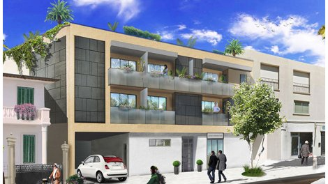 Appartement neuf Antibes - 5498 investissement loi Pinel à Juan-les-Pins