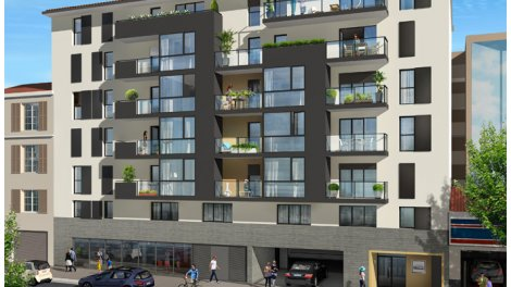Appartement neuf Nice - 6184 investissement loi Pinel à Nice