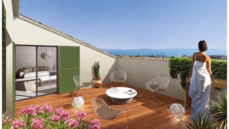 Appartement neuf Ste-Maxime - 6120 éco-habitat à Sainte-Maxime