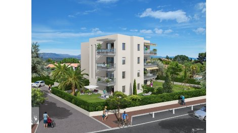 Appartement neuf Parc Saint Louis investissement loi Pinel à Antibes