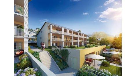 Appartements et villas neuves Le Côteau investissement loi Pinel à Barberaz