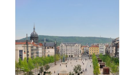 Appartement neuf Allees Blatin éco-habitat à Clermont-Ferrand