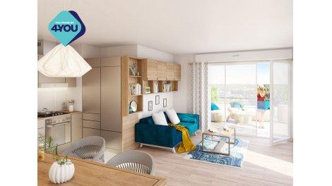 Appartement neuf Attrakt éco-habitat à Nancy