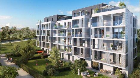 Appartement neuf Côté Rives -2 à Bischheim