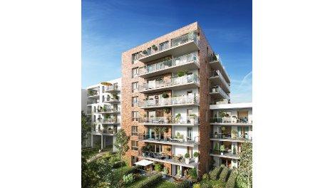 Appartement neuf 291 et 291bis Victor Hugo éco-habitat à Lille