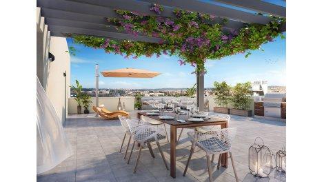 eco habitat neuf à Aix-en-Provence
